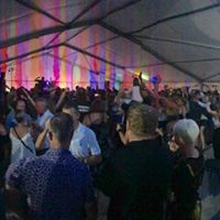 Crowds at Sandbach Rock and Pop Festival