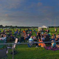 Field at Sandbach Rock and Pop Festival